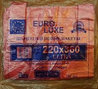 Пакет майка euroluxe 22*36 розовый