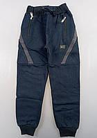 {есть:13 лет,14 лет,15 лет,16 лет} Спортивные брюки с начесом для мальчиков,  Артикул: T2566-т.синий [13 лет]