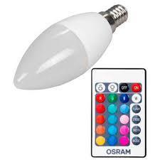 Светодиодная лампа LED CLB40 REM 5,5W/827 230V FR E14 6XBLI1 OSRAM