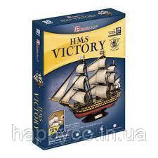 """Трехмерная головоломка-конструктор копия исторического корабля """"HMS VICTORY"""" CubicFun"""