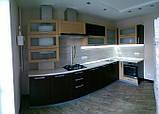 Кухня на заказ Шпон с фризеровкой, фото 2