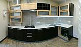 Кухня на заказ Шпон с фризеровкой, фото 3