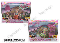 Кукла маленькая, с одеждой и аксессуарами, в коробке (ОПТОМ) 603C1/C2