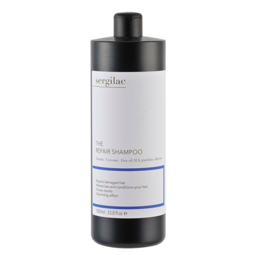 Sergilac Восстанавливающий шампунь для волос, 1000 мл.