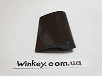 Ручка балконнаяDE LUXE (курильщика,ракушка) черная