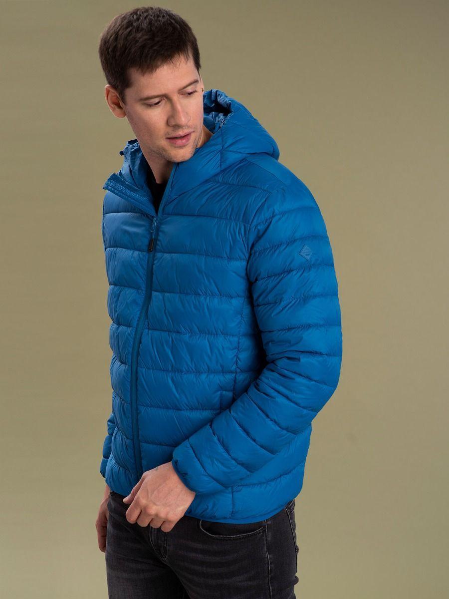 Демисезонная мужская синяя куртка Volcano J-Felipe M06370-611
