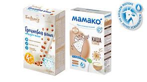 Молочні каші на Козячому молоці!