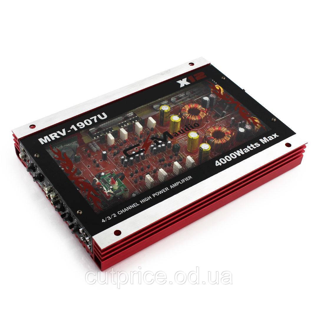 Підсилювач CAR AMP 1907 USB (4) в упак. 4 шт.