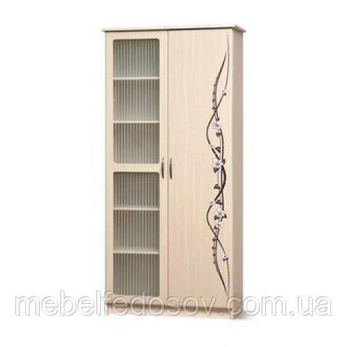 купить шкаф сакура с витриной