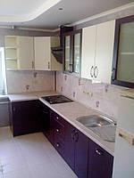Кухня на заказ МДФ крашеный матовый, фото 1