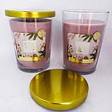 Свечи ароматизированные в стакане Биспол Bispol SPA 68 часов горения, фото 2