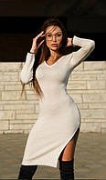Платье теплое силуетное ангора  новинка 2020, фото 1
