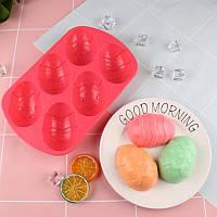 """Форма для выпечки силиконовая """"Пасхальные яйца"""" 21*13*2.5 см"""