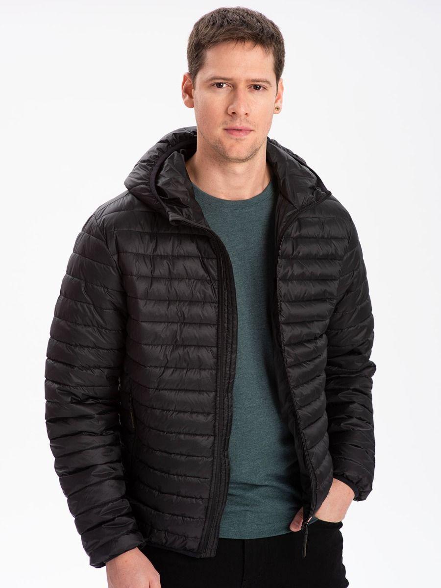 Демисезонная мужская черная куртка Volcano J-Hamilton M06312-700