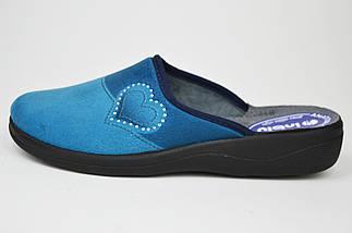 Тапочки Inblu CA5X голубо-синие, фото 2