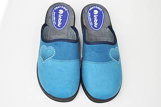 Тапочки Inblu CA5X голубо-синие, фото 3