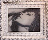 Портрет по фотографии+картина из бисера+гранж портрет+вип подарок+портрет Софи Лорен