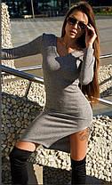 Сукня тепле силуетное ангора новинка 2020