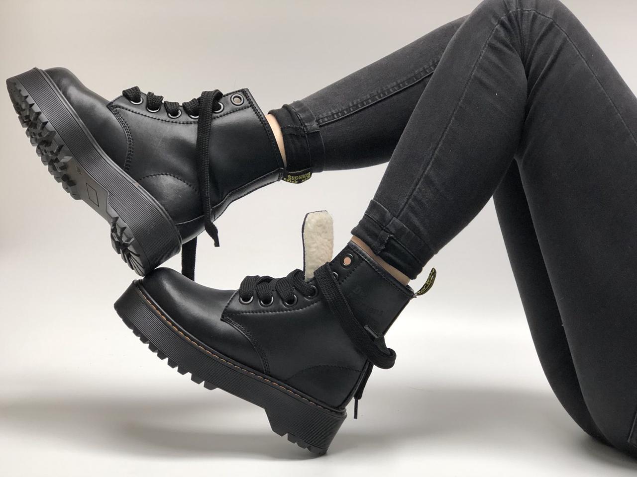 Женские зимние ботинки Dr. Martens Molly (Мех). [Размеры в наличии: 36,37,38,39,40]