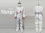 Многоразовый Защитный Костюм STUMP SP-2020 (KIMM-20-0111), фото 2