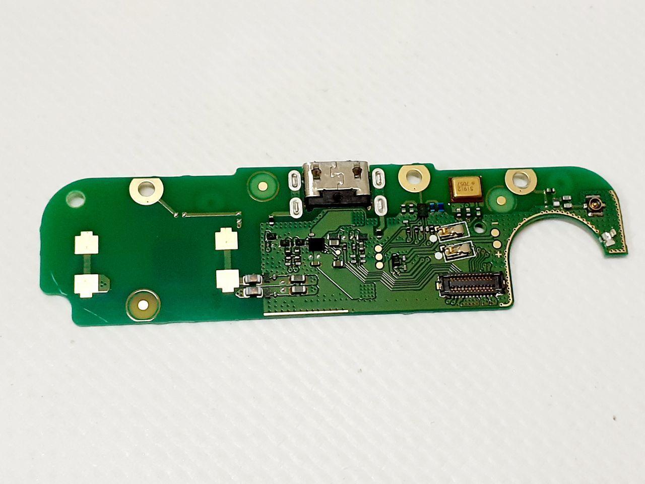 Нижняя плата Nokia 2 TA-1007 / Dual Sim TA-1029 с разъемом зарядки и микрофоном оригинал б.у.