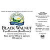 Black Walnut Грецкий черный орех, НСП, NSP, США. Противоглистный, антипаразитарный.  Улучшает обмен веществ., фото 3