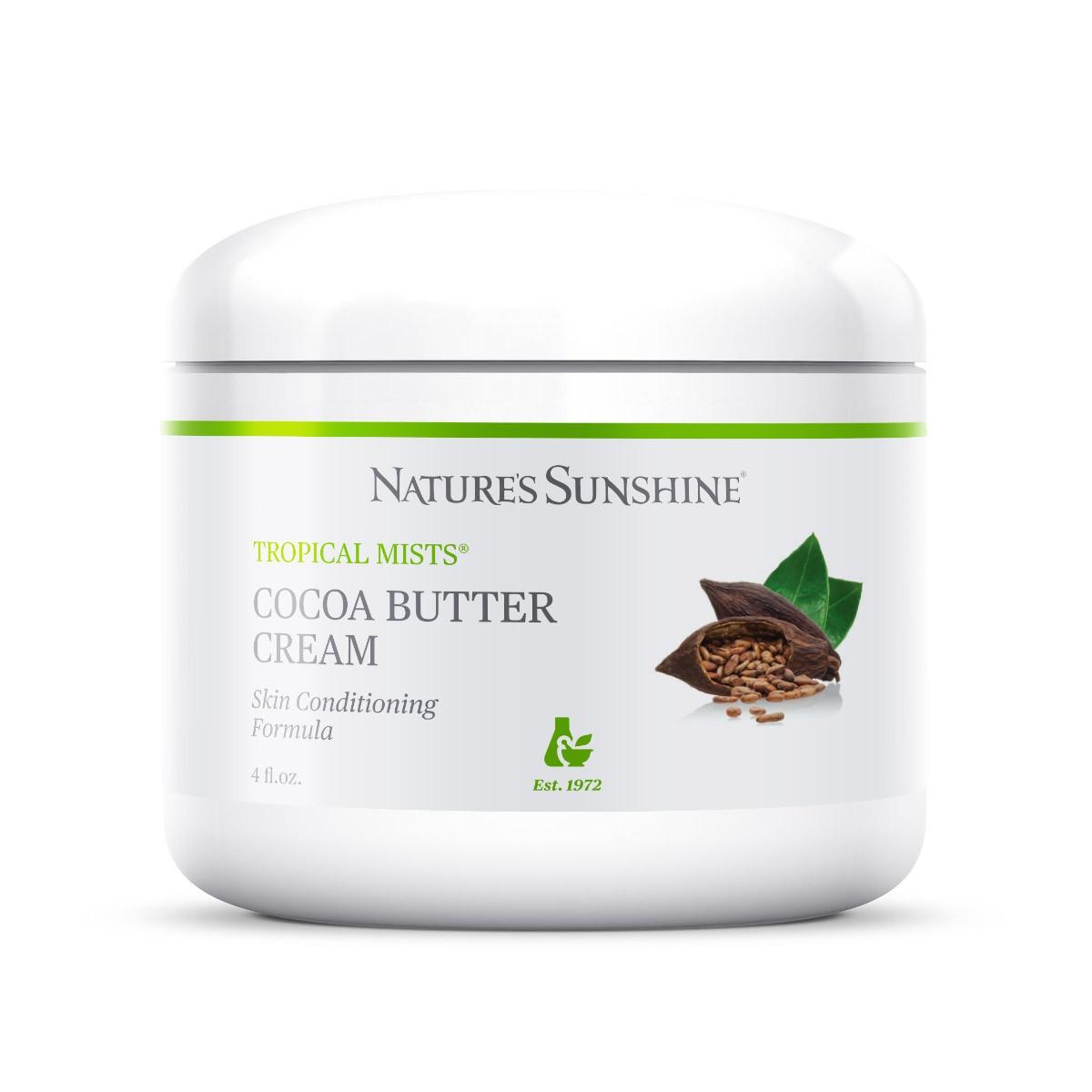 Cocoa Butter Cream.  Крем с маслом какао питательный для лица и тела, НСП, NSP, США. Для проблемной кожи.