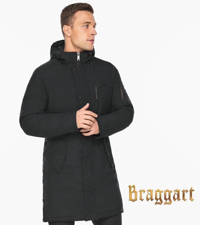 Зимняя куртка Воздуховик мужской зимний черный