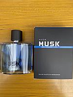 Мужской элегантный аромат Musk Marine (75 мл) Avon, маск марине эйвон, маск маріне ейвон