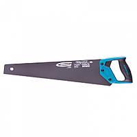 """Ножівка по дереву """"PIRANHA"""" 500 мм, 11-12 TPI, гартований зуб-3D, тефлонове покриття, двокомпонентна рукоятка,"""