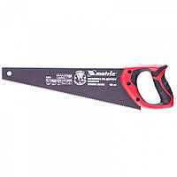 Ножівка по дереву 400 мм, 7-8 TPI, гартований зуб - 3D, тефлонове покриття, двокомпонентна рукоятка, МТХ