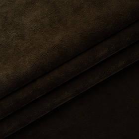 Ткань антикоготь флок Финт темно-коричневого цвета