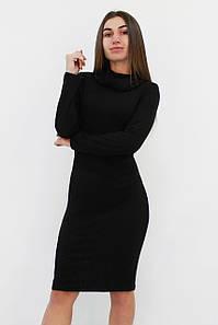 Ангорове плаття з хомутиком Rebeka, чорний