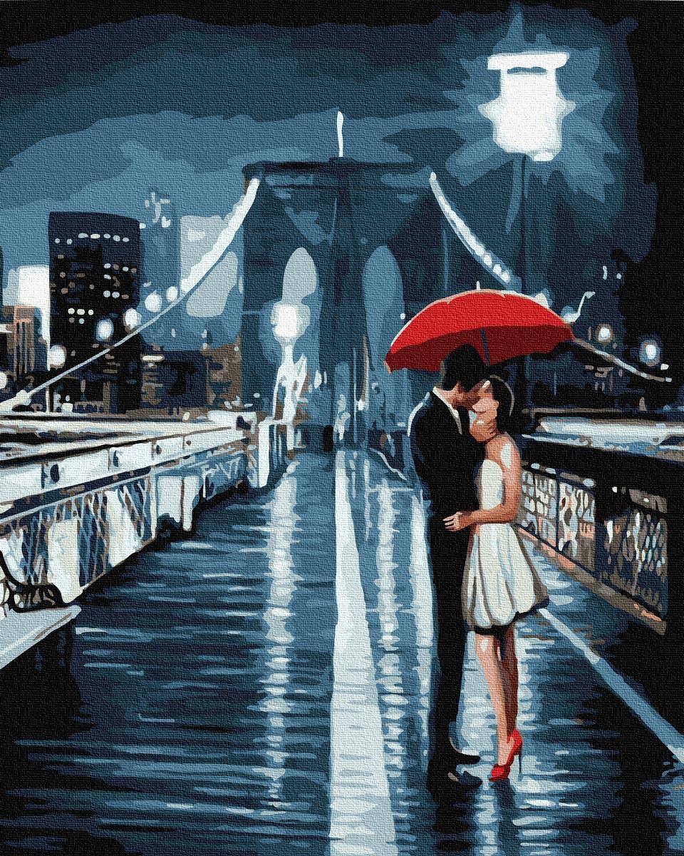 Картина по номерам 40х50см. GX32244 Романтическое свидание Rainbow
