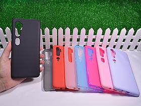 Силиконовый бампер для Xiaomi Mi Note 10
