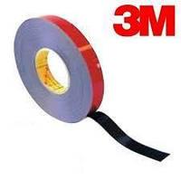3M Скотч 2-х сторонний ЧЕРНЫЙ  5м*15мм