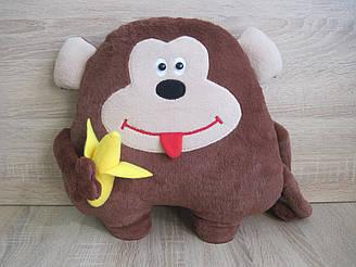 Мягкая игрушка - подушка обезьяна Чита ручная работа
