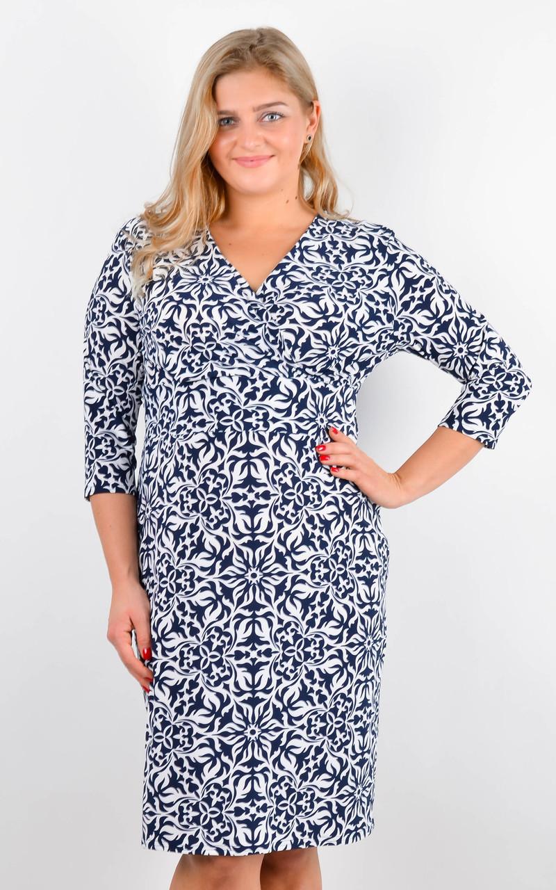 Стильное и практичное платье больших размеров