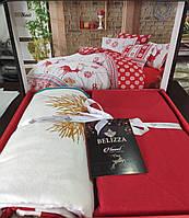 Комплект постельного белья фланель Noel Belizza Евро размер