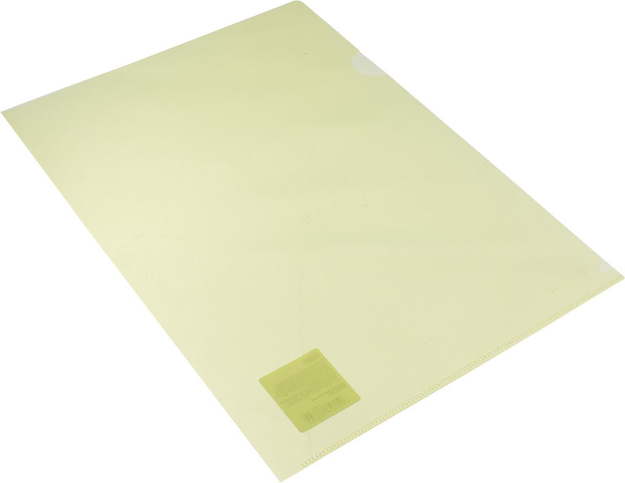 "Папка-куточок ""Axent"" №1434-26-А A4 жовта(10)"