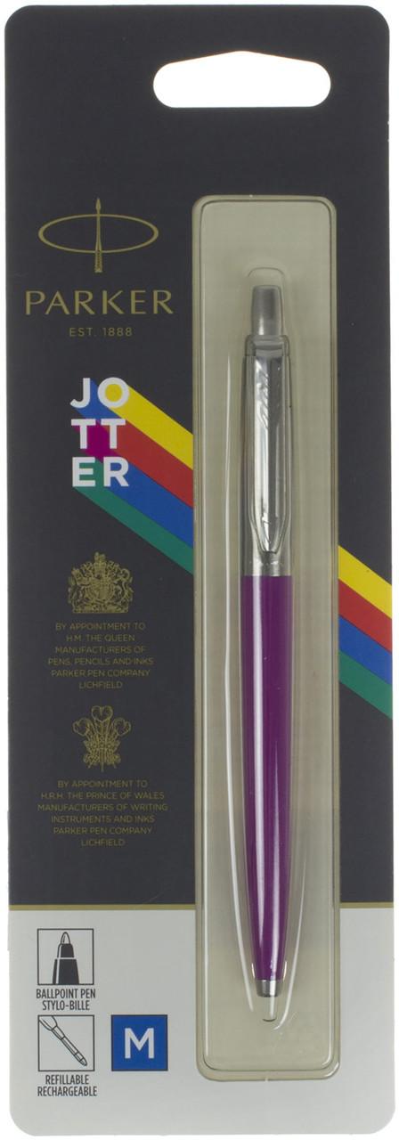 """Ручка кульк. """"Parker Jotter Plastic Pink"""" блістер №15536"""