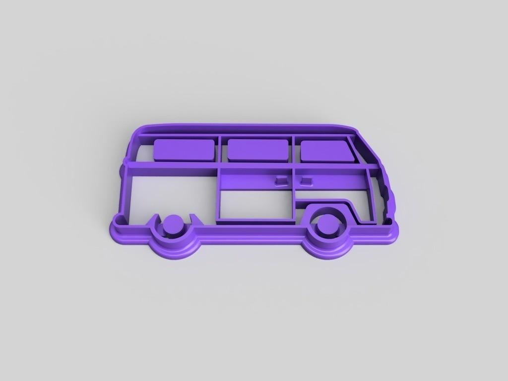 Висічка для пряників у вигляді фургону