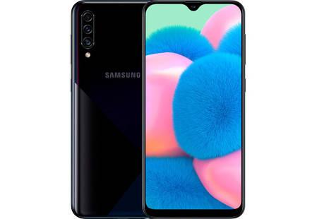 Смартфон Samsung Galaxy A30s A307F Black Stock A, фото 2