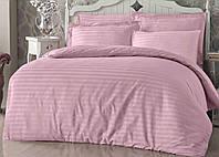 """Постільна білизна """"Еліт"""" двоспальне 180х220 кольоровий страйп-сатин люкс (10803), фото 1"""