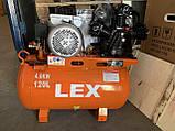 Компресор LEX LXAC365-120  120л 780л / хв, фото 2