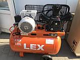 Компресор LEX LXAC365-120  120л 780л / хв, фото 6