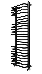 Рушникосушка Hitzes 1210x500x165 водяна, Black чорна, WMB 2450