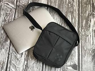 Мужская черная сумка на плече Off - White
