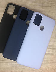Чехол силиконовый для Samsung M31 2020 (M315) матовый цветной
