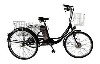 """Електровелосипед дорожній триколісний 26"""" KelbBike 350W+PAS"""